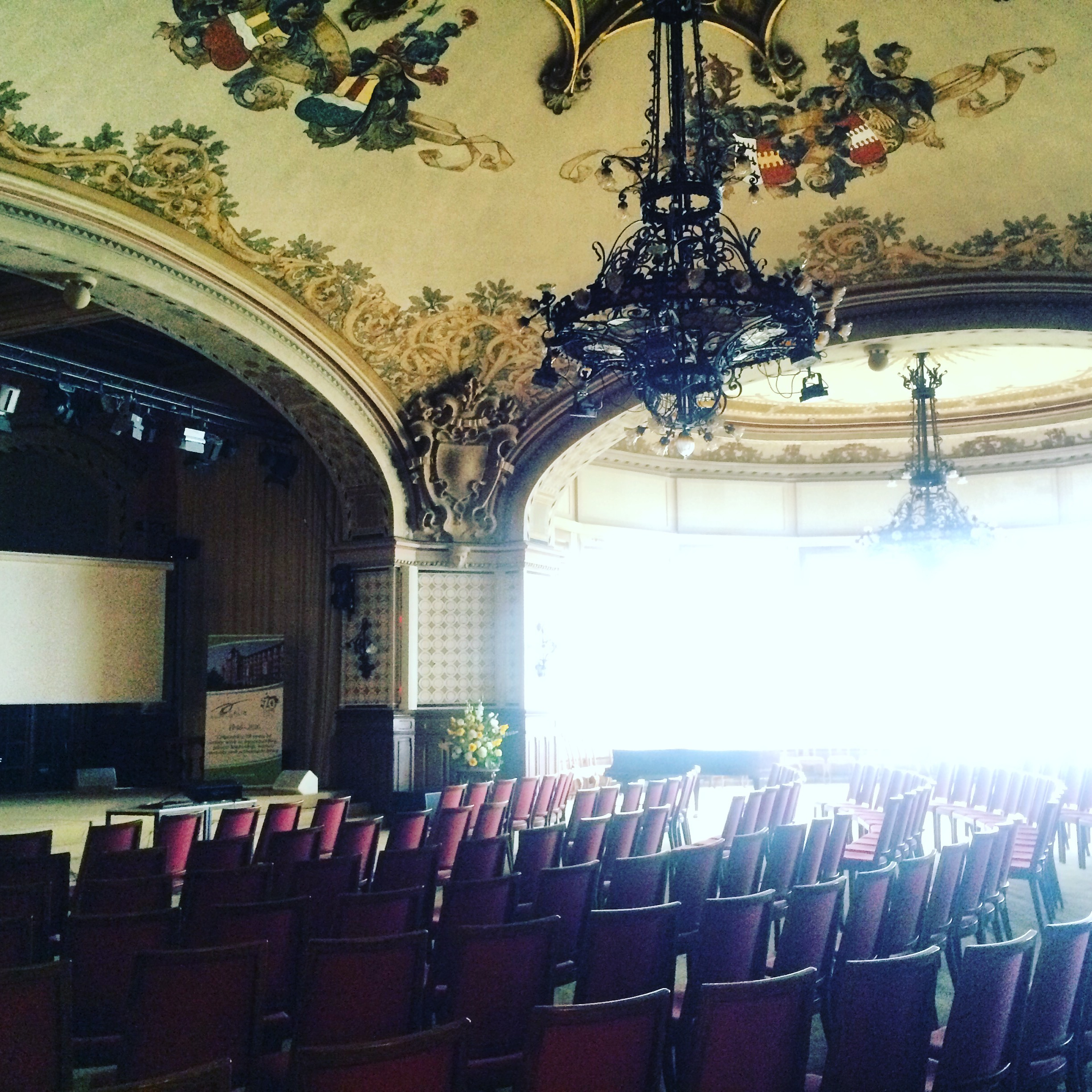 The Magic of Caux Forum waiting to begin