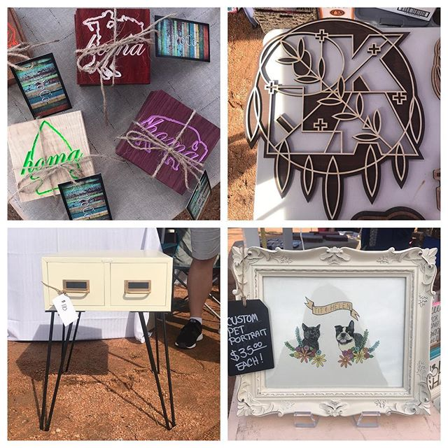 Our vendors have tons of one-of-a-kind products made with love. Come meet these talented makers and support local shops!