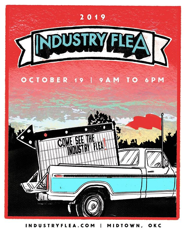 The Industry Flea is coming back October 19 in conjunction with the Midtown Walkabout! Come check out our vintage dealers, local makers and pumpkins from 9AM to 6PM at 10th & Hudson.