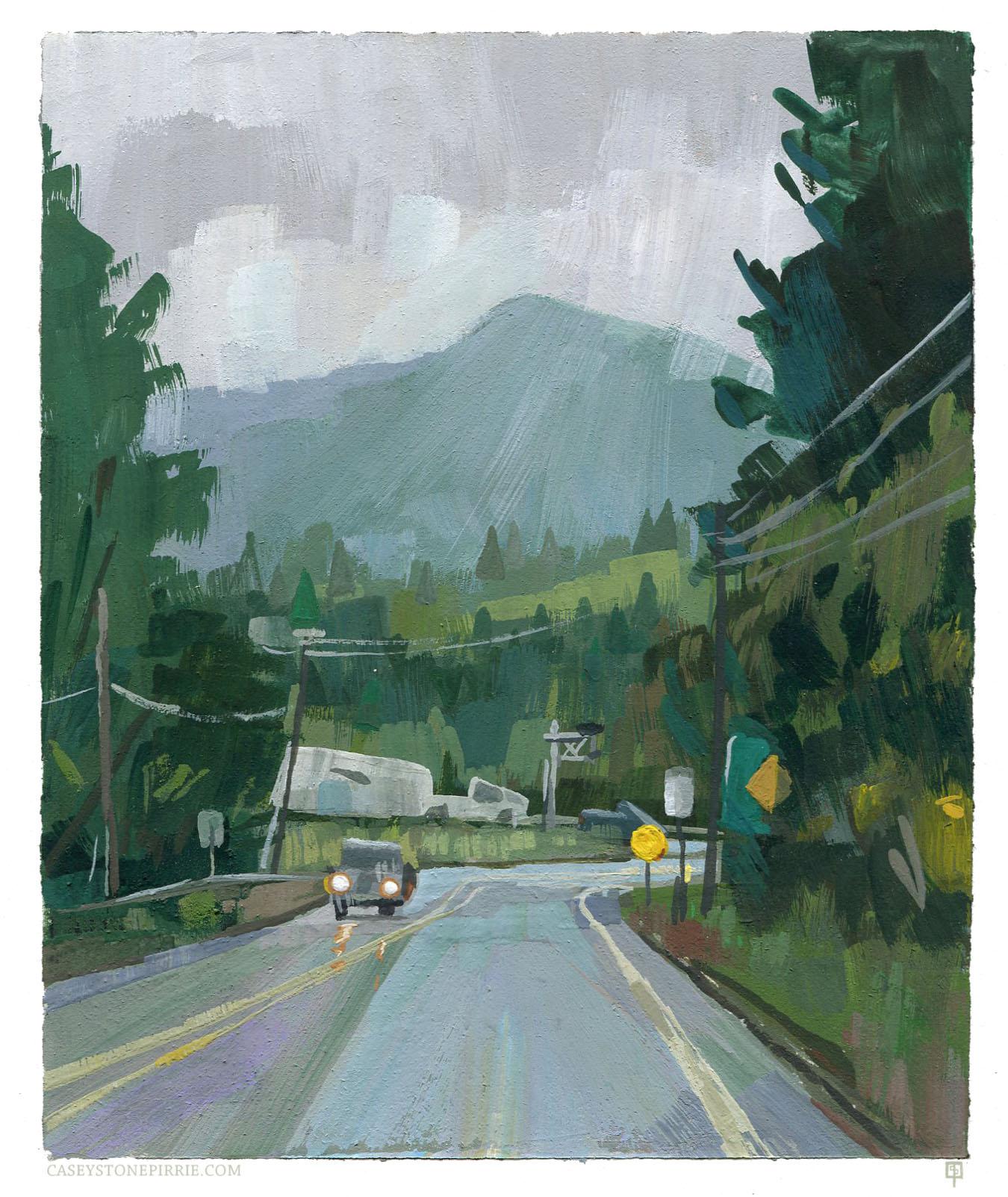 Outside of Mt. Rainier National Park