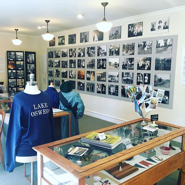 Come visit the museum! #oswegoheritagecouncil #oswegoheritagehouse #lakeoswegomuseum