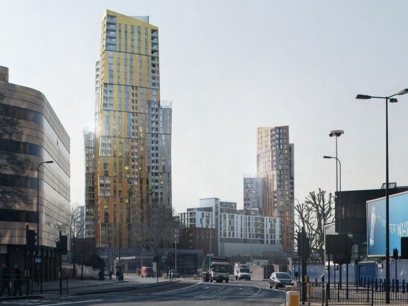 Sainsbury's Development Nine Elms