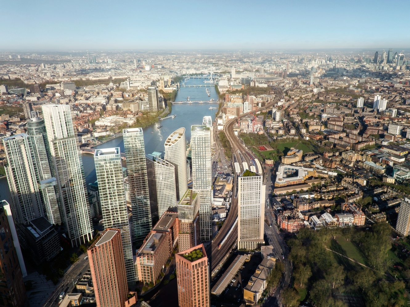 Vauxhall's Proposed Towers