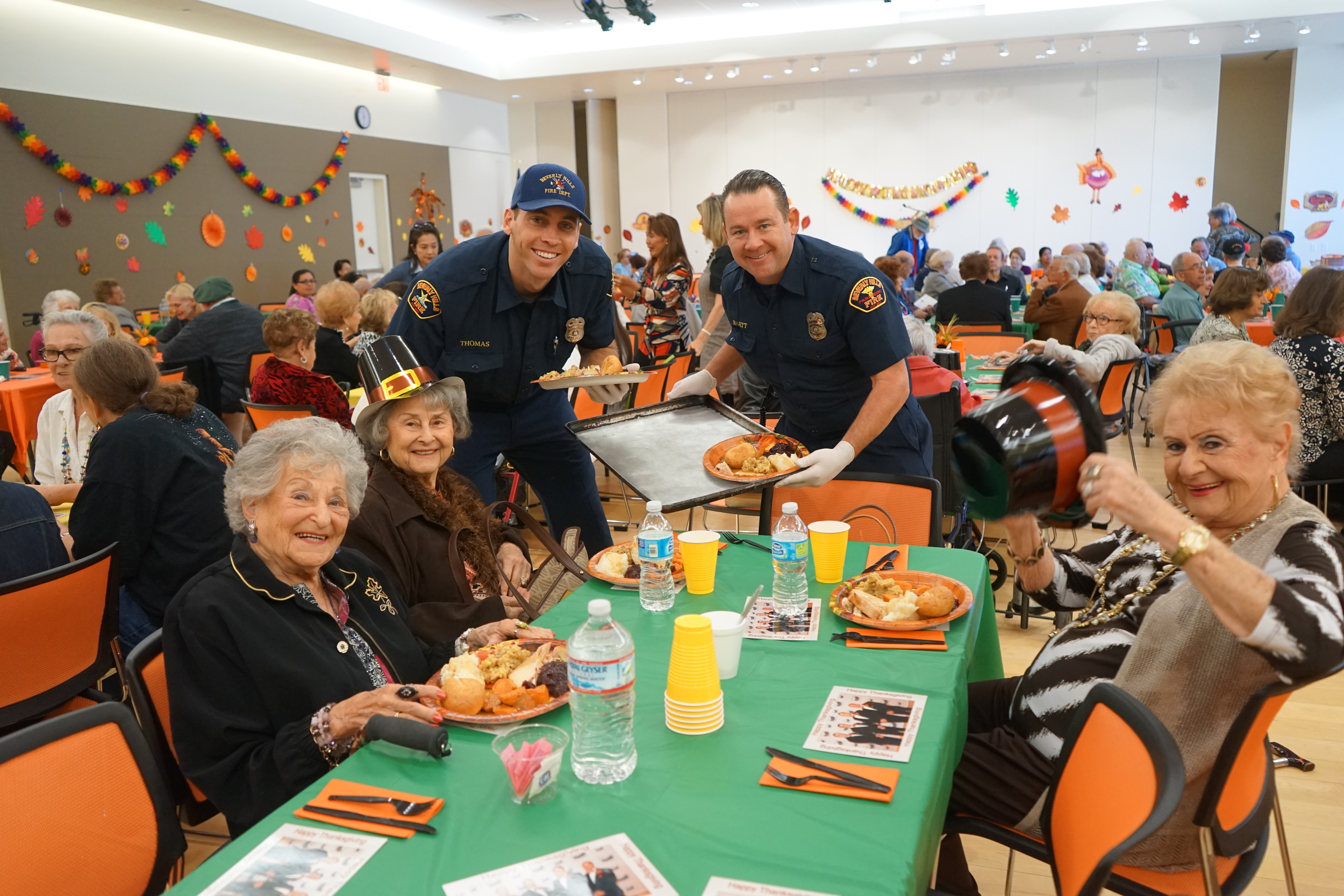 BHFA Sponsors Adult Active Thanksgiving Luncheon