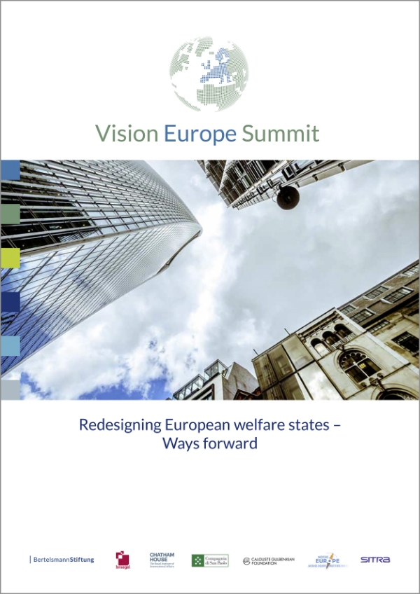 This publication suggests ways forward on a national and EU level in order to ensure sustainable welfare states which are able to fulfil their core functions and ensure the well-being of European citizens in the decades to come.