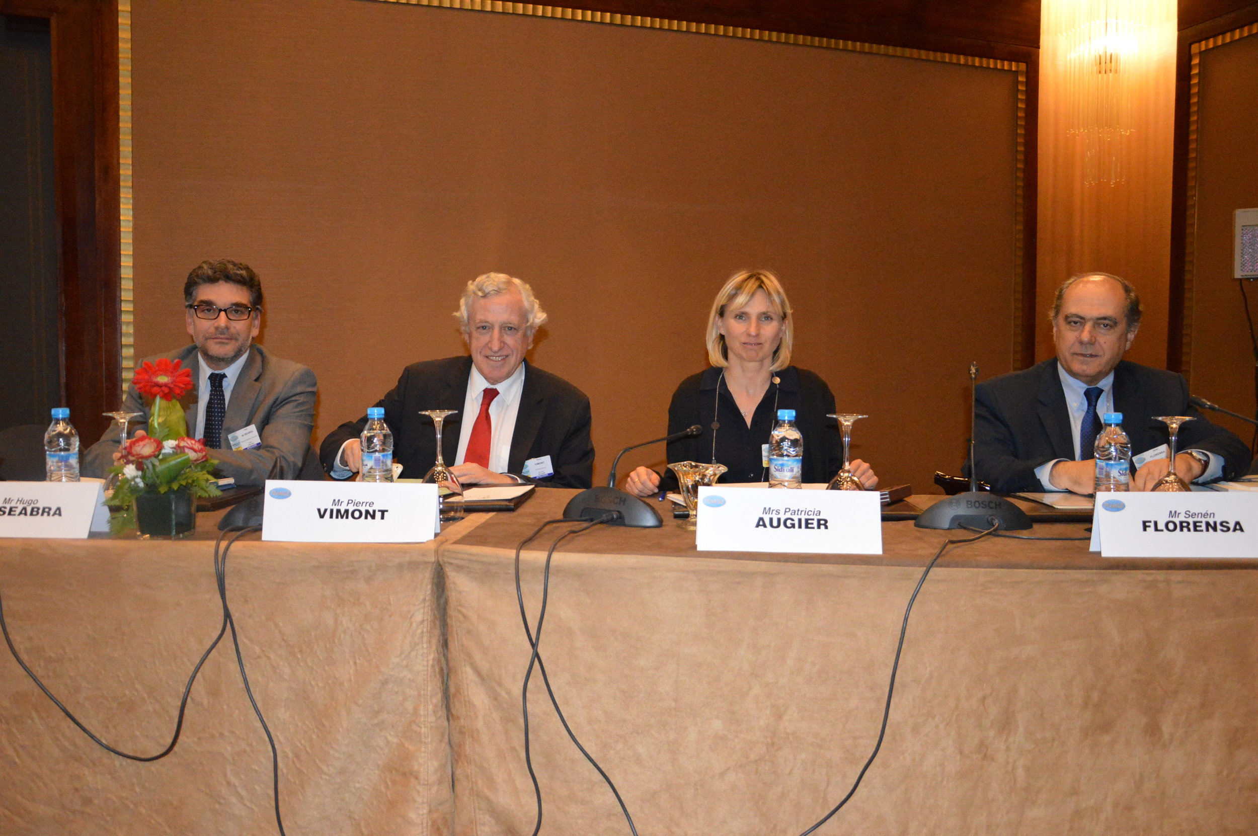 Speakers at FEMISE Annual Conference. 29-30 April 2017, Casablanca. Copyright: FEMISE