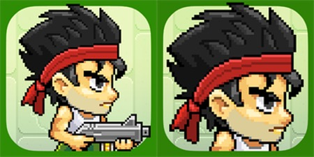 """""""tap army"""" game icon change, from  pocketgamer.co.uk"""