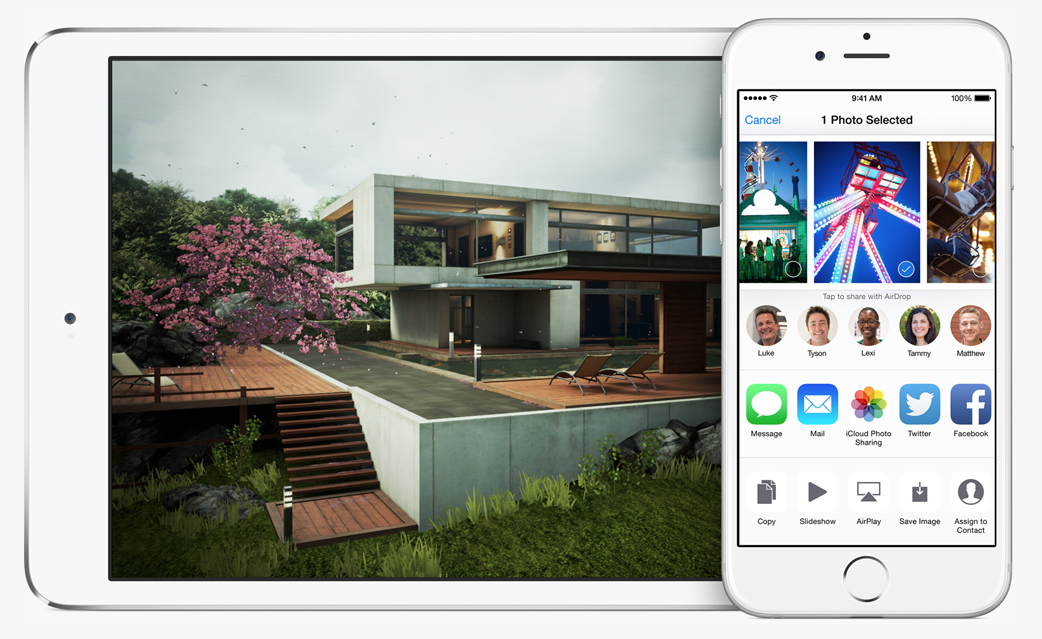 Image from Apple.com/iOS