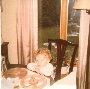 Portrait of the tech blogger as a young man, dreaming of an easier way to enjoy audio.
