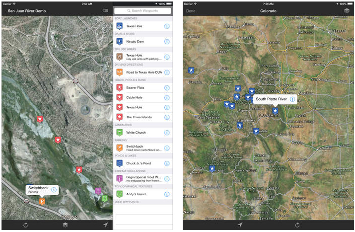 TROUT STREAM GPS