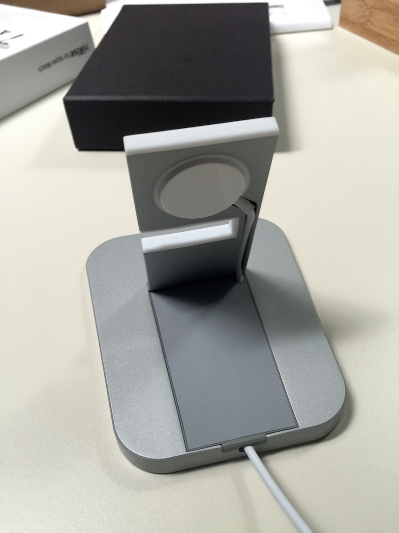Twelve South HiRise for Apple Watch - rear view. Photo ©2015, Steven Sande. All rights reserved.