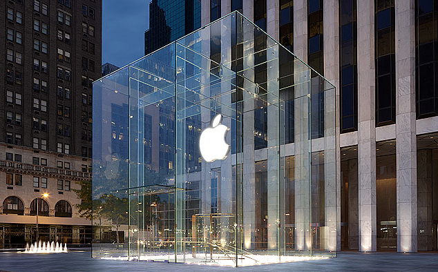 Apple Store Fifth Avenue, Photo by Apple Inc.