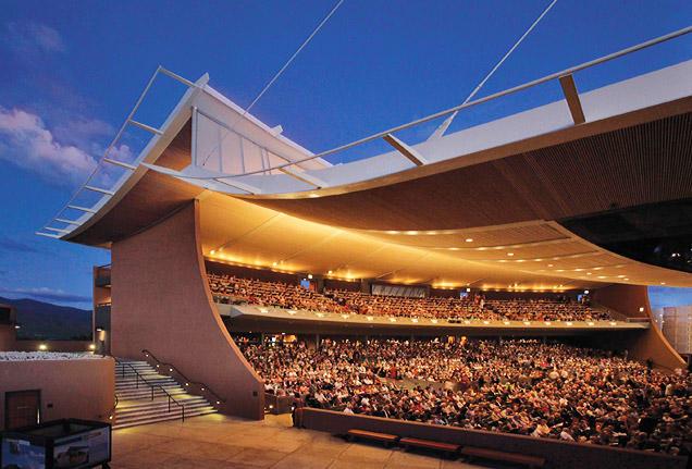 Santa Fe Opera, photo via Texas Tech KTTZ