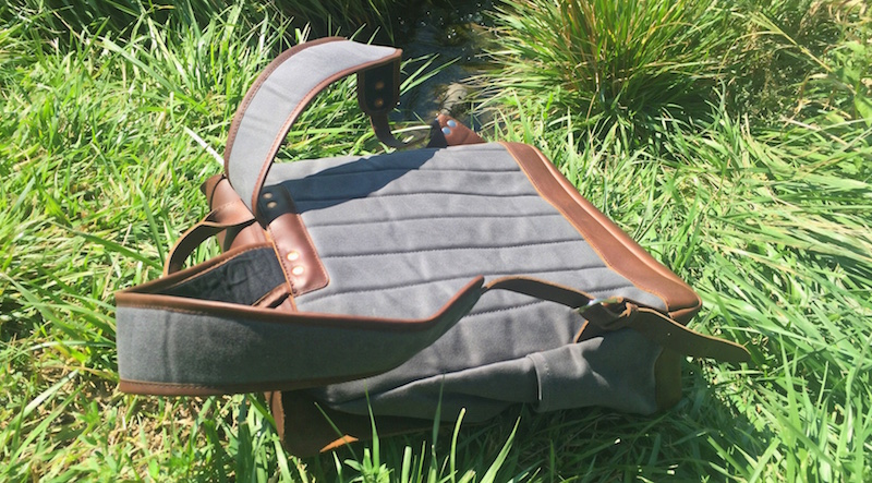Pad & Quill Leather Backpack. Photo ©2015 Steven Sande. All Rights Reserved.