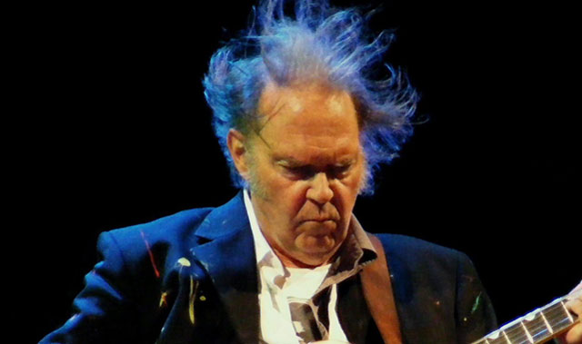 Photo of Neil Young by Man Alive! via TechCentral.co.za