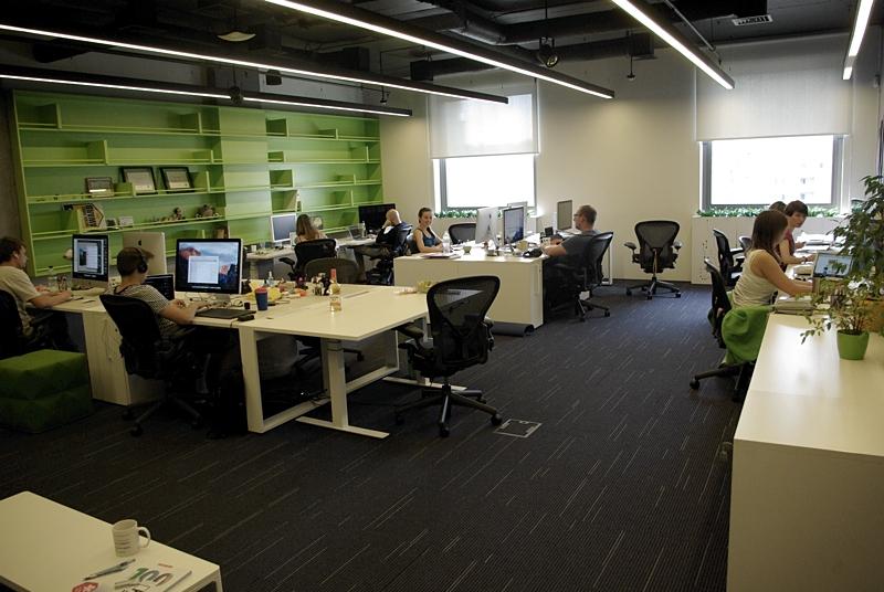 Team Room at MacPaw HQ. Photo by Krystian KOzerawski