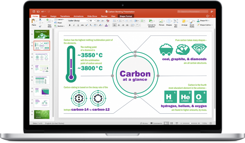 PowerPoint for Mac, via Microsoft