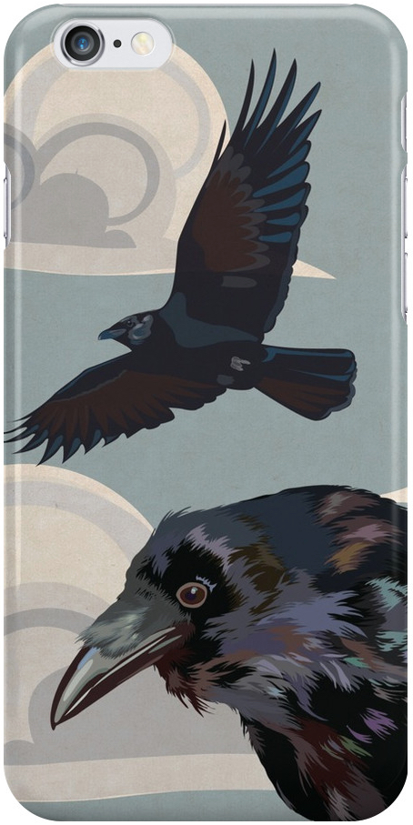 Crow invasion iPhone 11 case