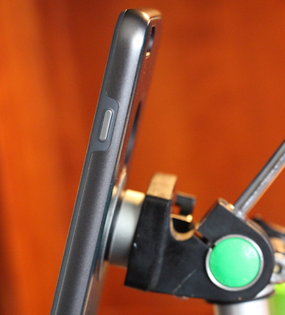 iPHONE 6S PLUS ATTACHED TO A TRIPOD USING SATECHI MAGNET MOUNT. PHOTO © 2016 Steven Sande