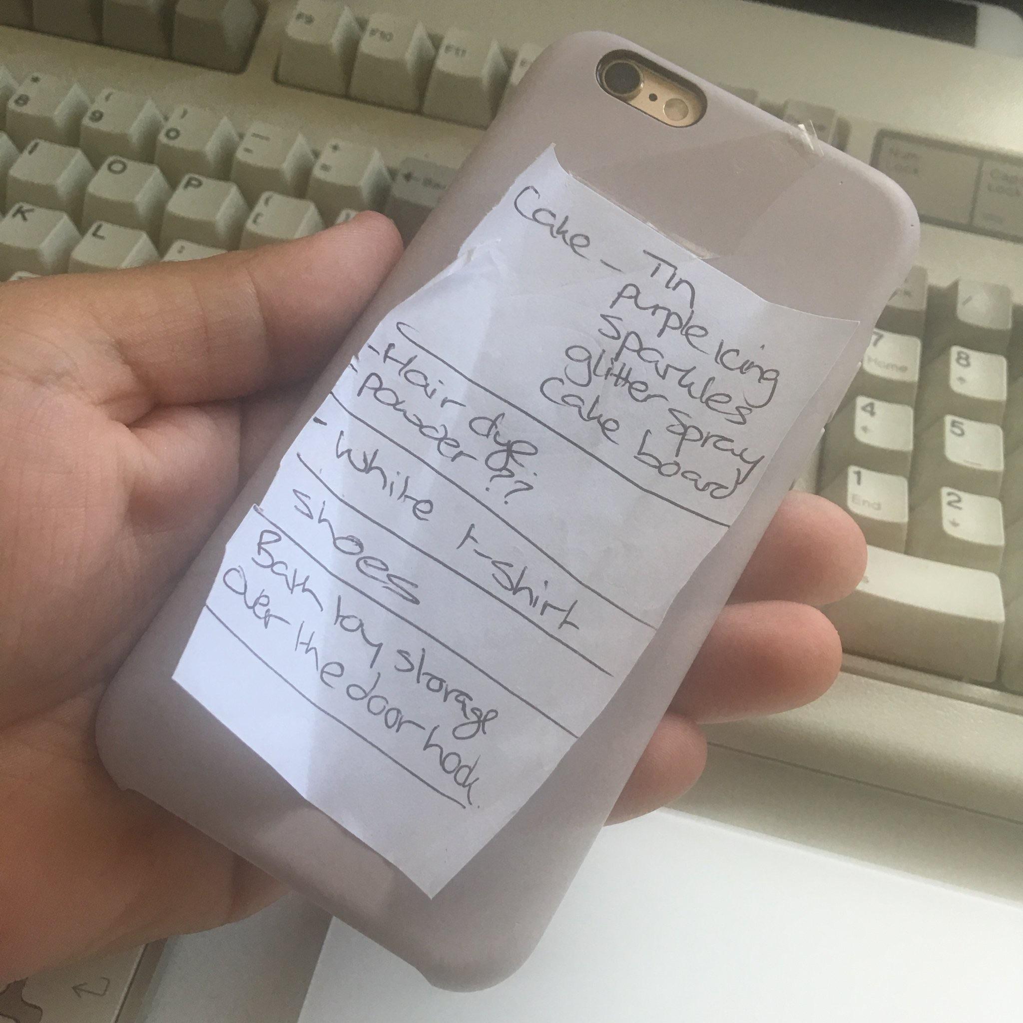 """My wife made her own todo list app. #iosdev"" -- @craftydeano on Twitter"