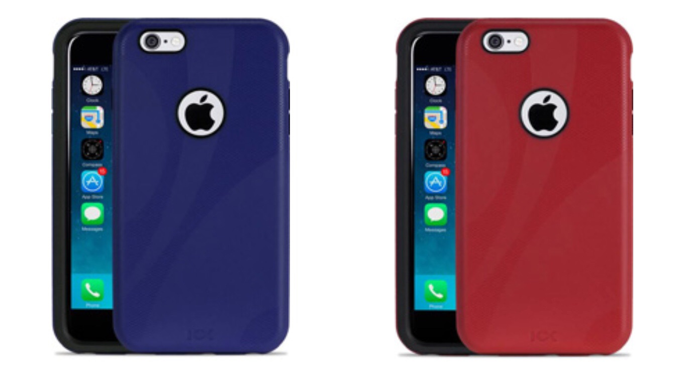 NuGuard KX for iPhone 7 in midnight and crimson finishes