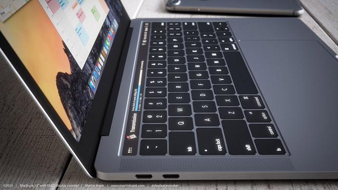 MacBook Pro Rendering by  Martin Hajek