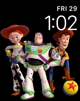 Toy Story Watch Face
