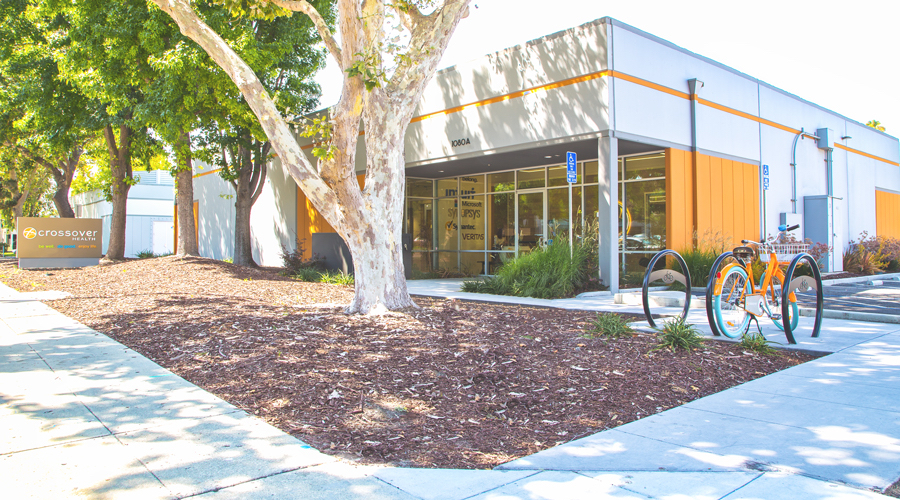 Pictured is the Crossover Health facility in Mountain View, California.