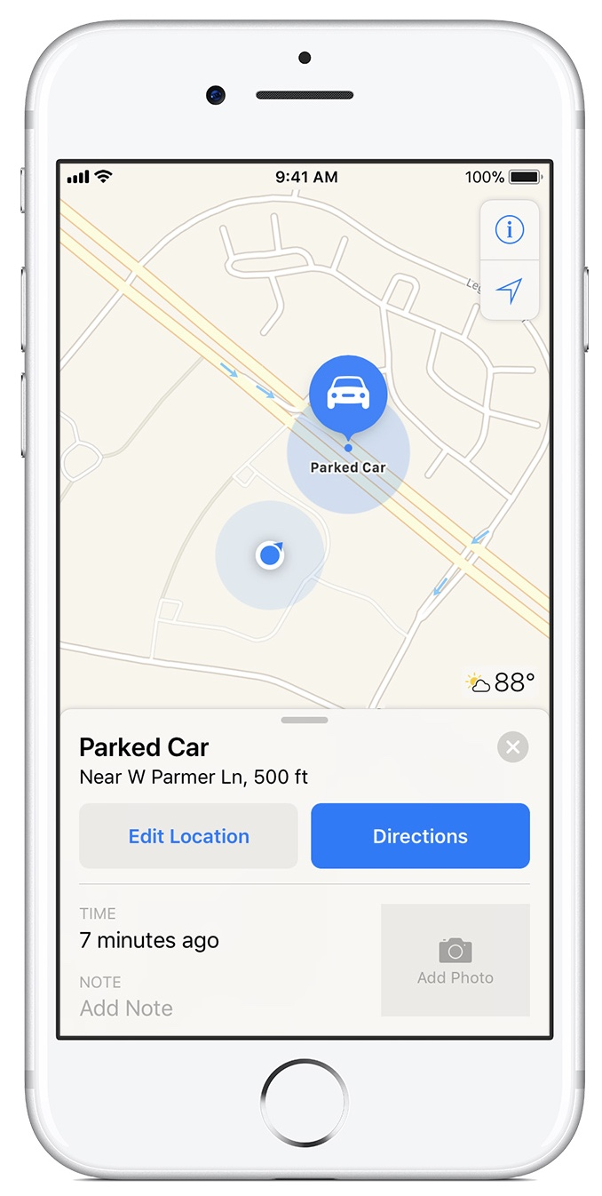 Locate My Car >> How To Find My Car With Ios 11 Apple World Today