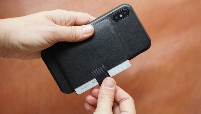 The Wally Case for iPhone X. Photo courtesy of Distil Union