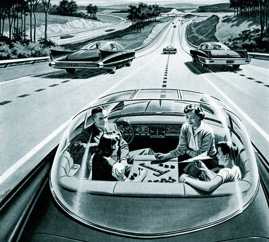 Autonomous cars may be closer…but fins are gone for good…