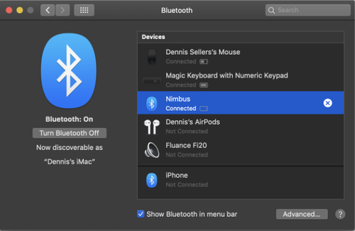 How to connect a Nimbus Wireless to your Apple devices