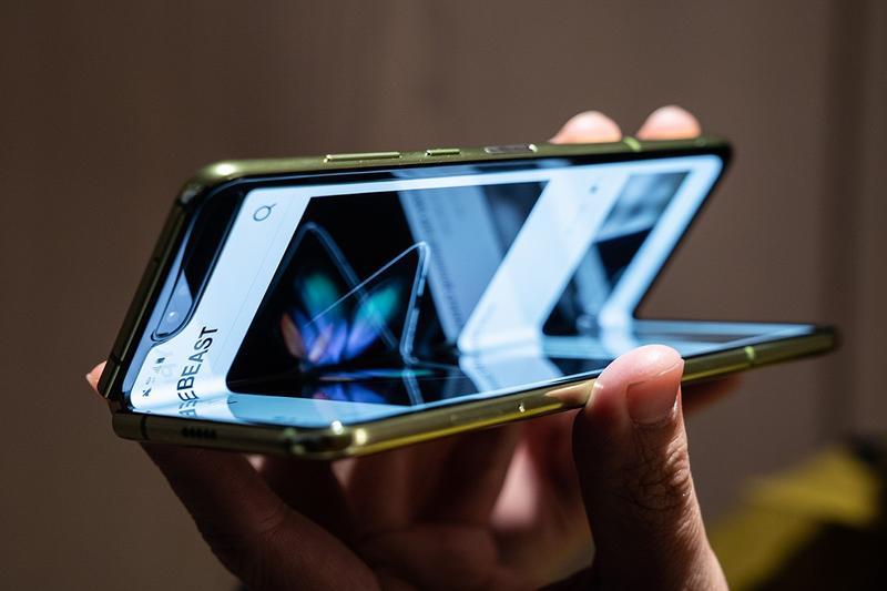 Samsung Galaxy Fold Image via hype-beast.com
