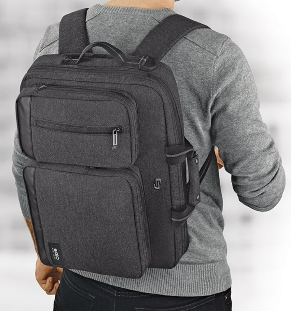 The Duane Hybrid Is A Briefcase It S A Backpack It S Both Apple World Today