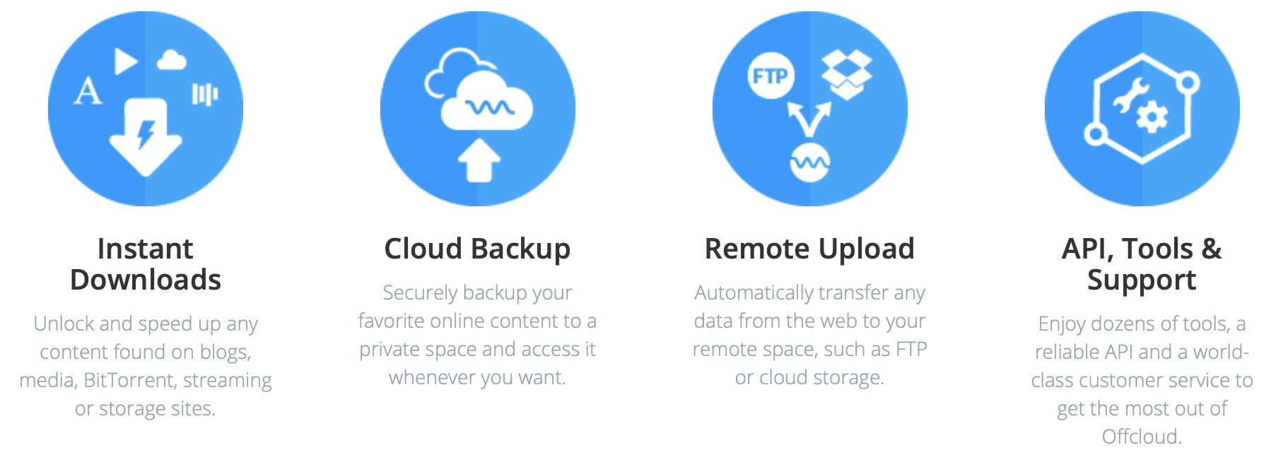 Deal! A lifetime subscription to Offcloud Download Manager