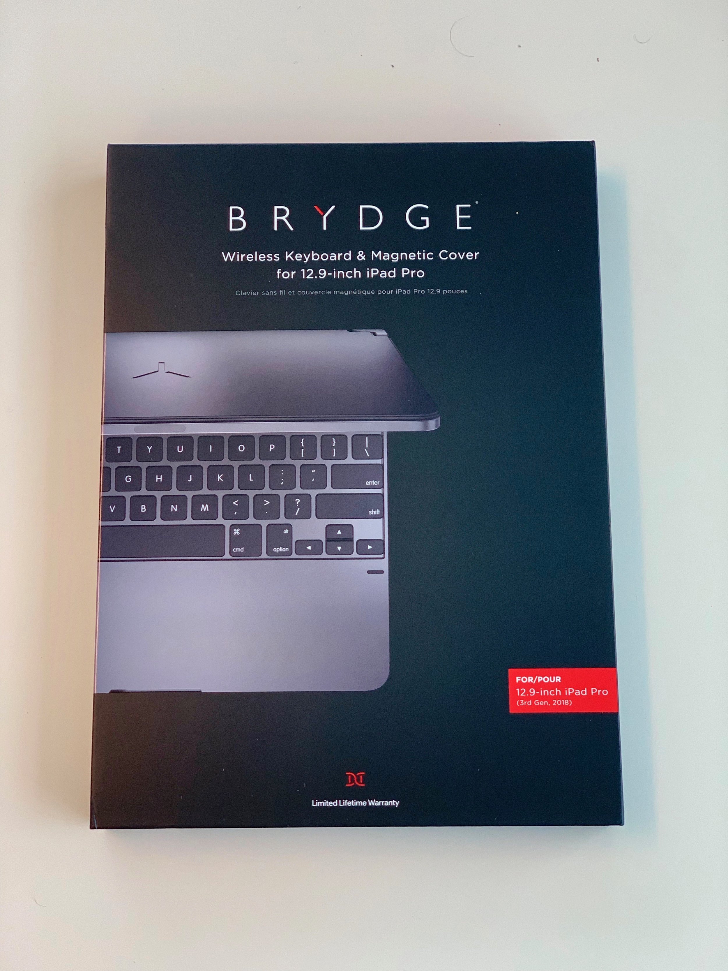 Even the box for the Brydge Pro is nice! Photo by Desmond Fuller