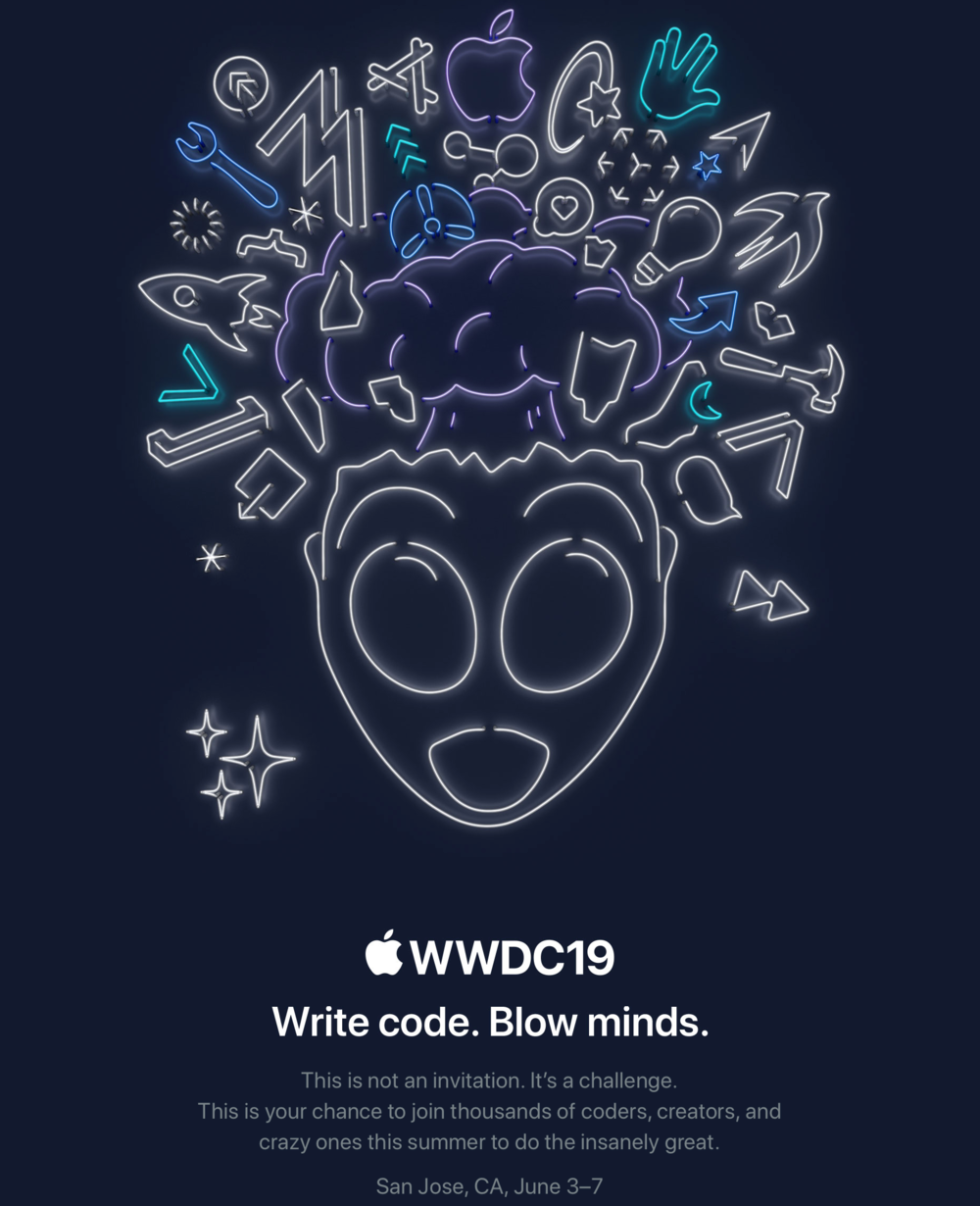 News nuggets regarding the 2019 Apple WWDC (updated) — Apple