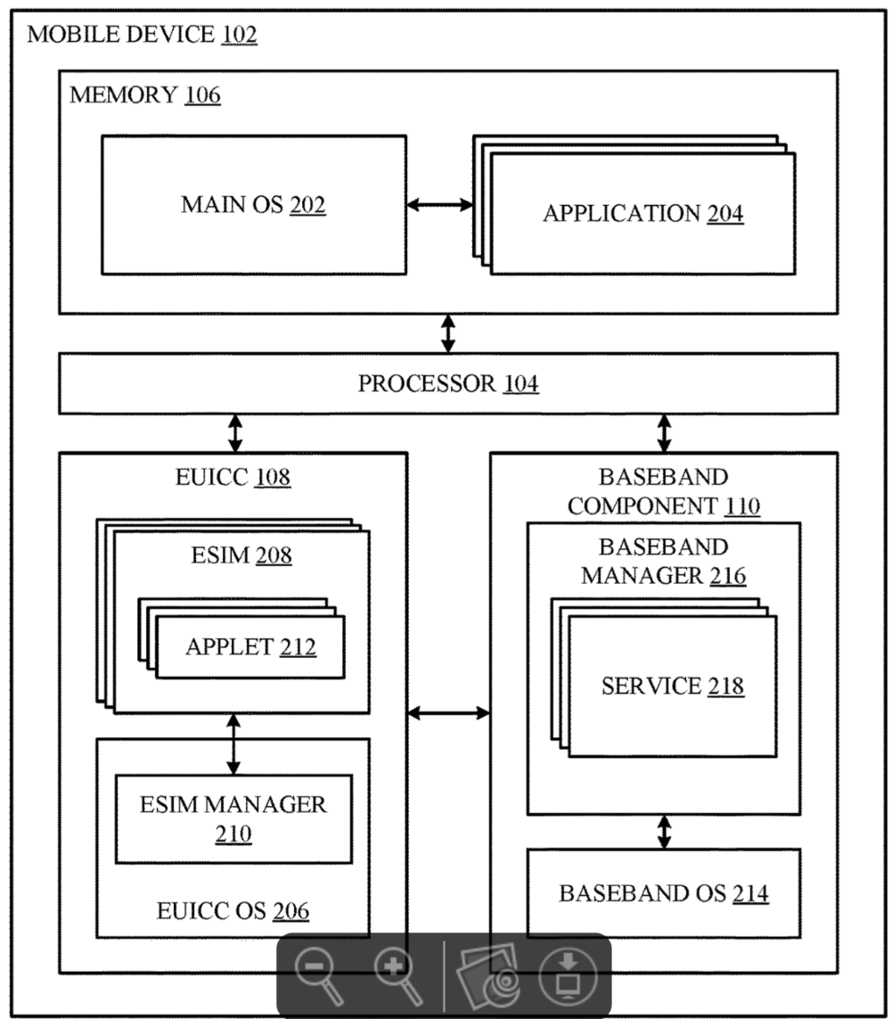 Apple wins patent for 'in-advance eSIM management
