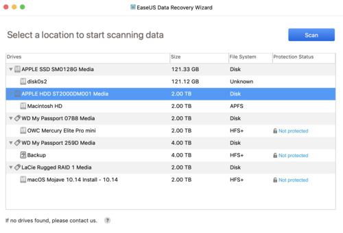 Try EaseUS Data Recovery Wizard for Mac for Free, Then Take