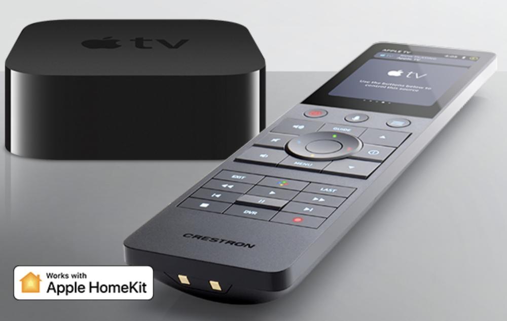Apple TV, Siri, HomeKit technologies being integrated into Creston remotes