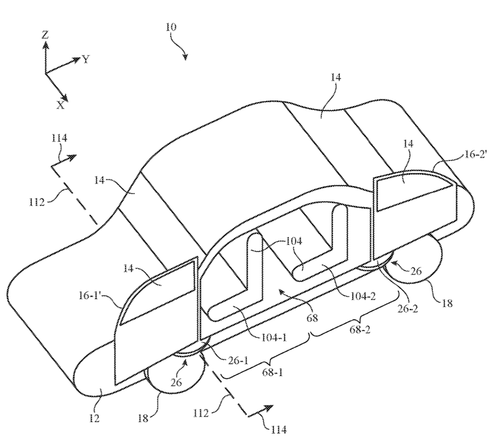 Apple granted patent for vehicle doors with 'adaptive positioning'