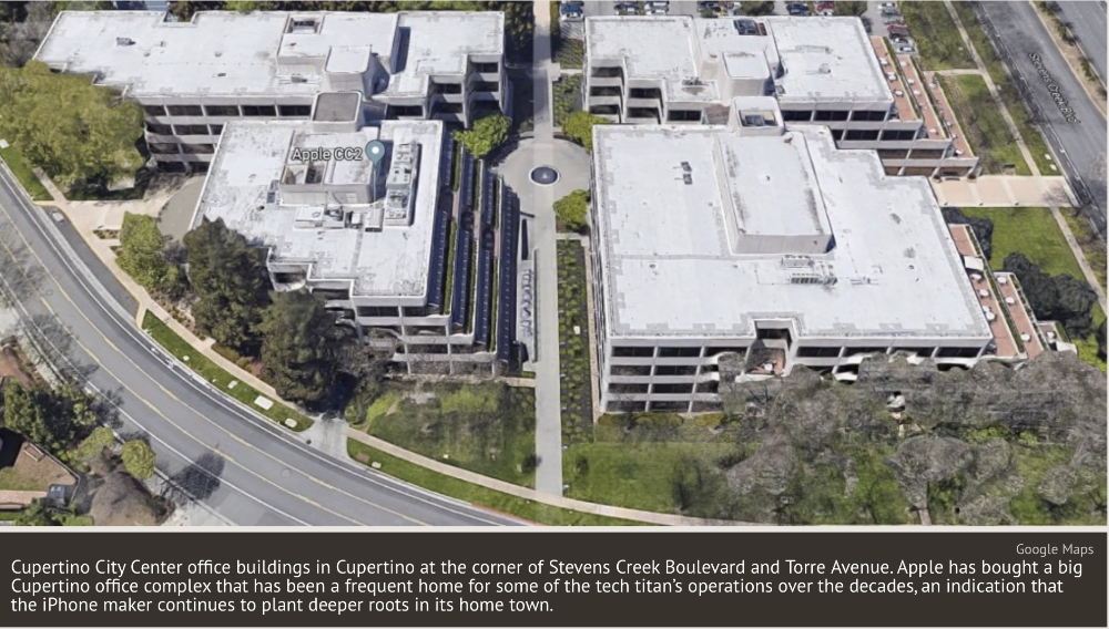 Apple scoops up more property in Cupertino, California