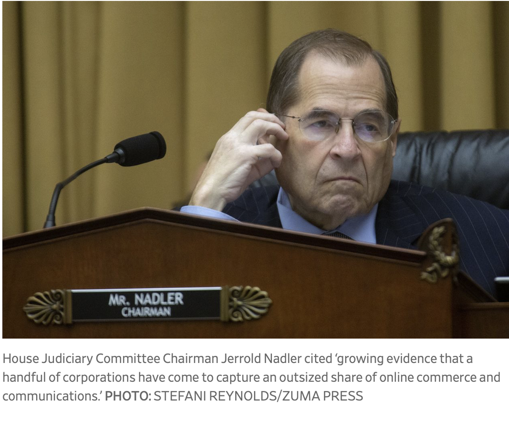 House Judiciary Committee investigating four tech companies, including Apple, for anticompetitive behavior