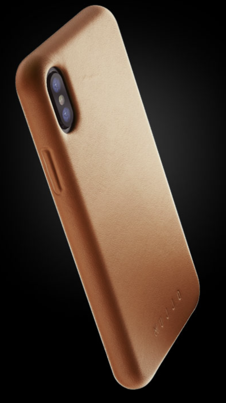 Mujjo's Leather Case for Apple's new iPhones is a great case, but so-so wallet