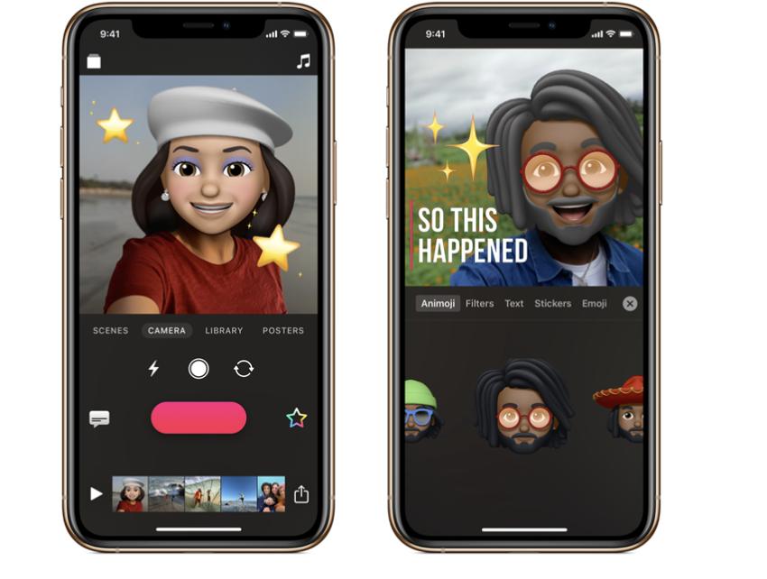 Clips for iOS, iPadOS now features Memoji, Animoji, new
