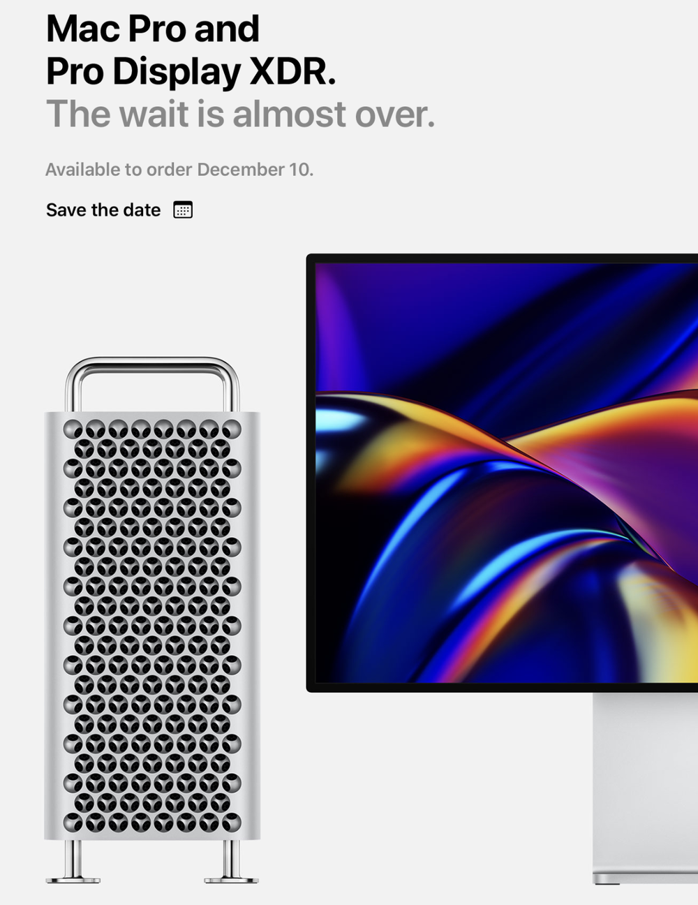 Apple's Mac Pro, Pro Display XDR available to order Dec. 10