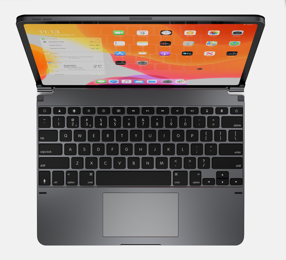 Brydge announces iPad keyboard with integrated trackpad