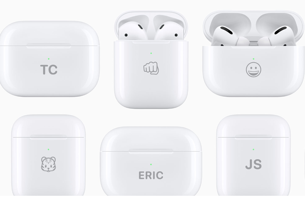 You can now have emojis engraved on an AirPod Charging Case