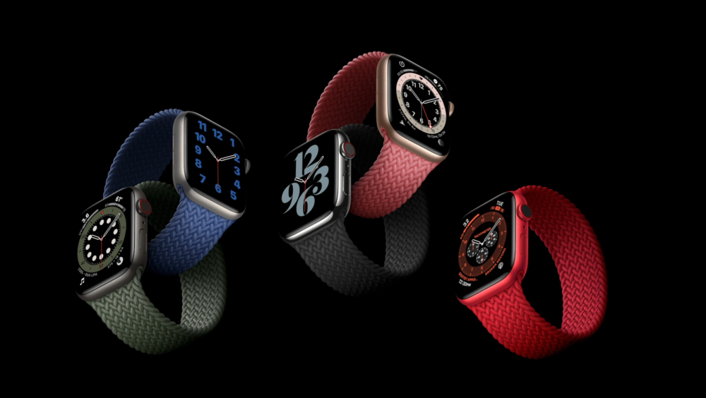 Apple Watch Series 6 with the new Braided Solo Band