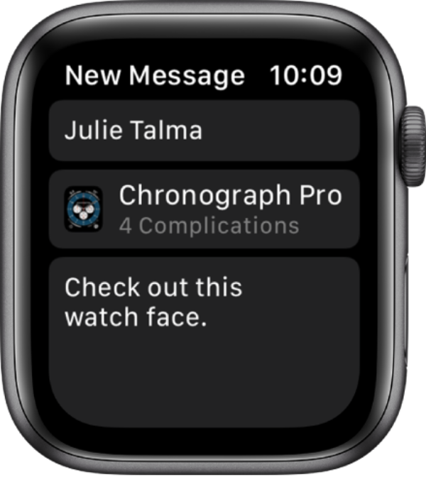 How to share and receive Apple Watch faces in watchOS 7